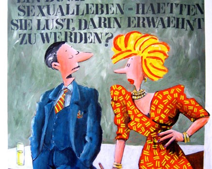 Buch über Sexualleben, 2006, 100 x 120 cm