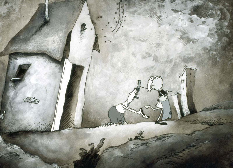 Water PeopleLost Shoe © Paul Driessen / Nico Crama Films / Netherlands Institute for Animation Film
