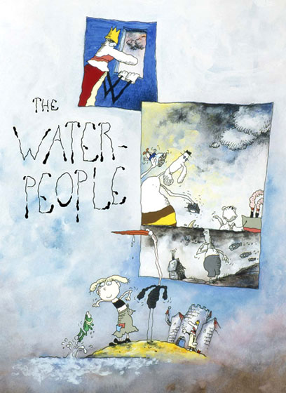 WaterPeoplePoster © Paul Driessen / Nico Crama Films / Netherlands Institute for Animation Film