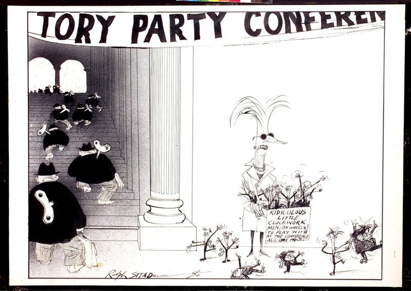 Clockwork men - Party Conference